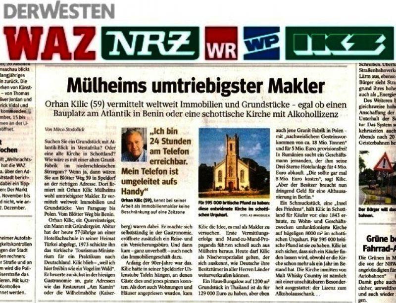 Makler Mülheim An Der Ruhr ladenlokal einzelhandel zum kauf in mülheim an der ruhr