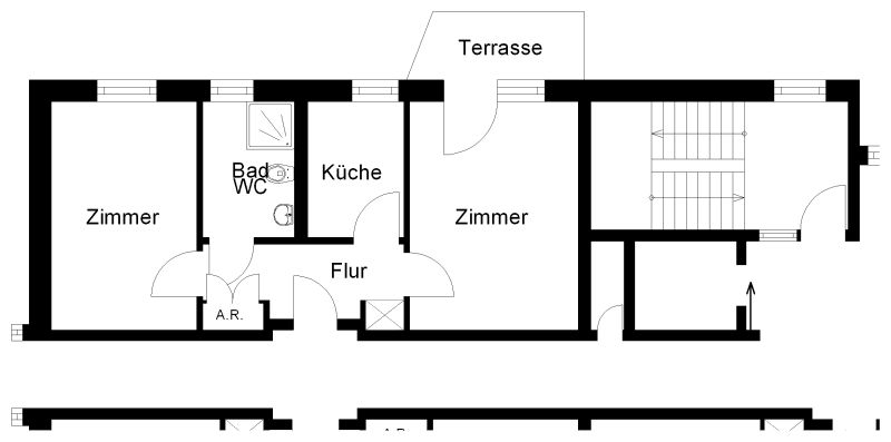 2 Zimmer Erdgeschosswohnung Zur Miete In Osnabrück Innenstadt Wbs
