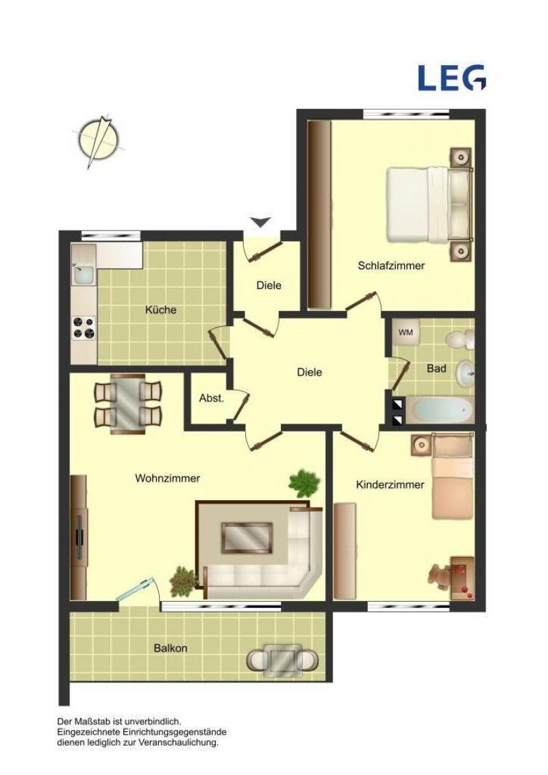 Wohnung In Bergkamen